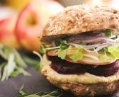 Roasted Beet Sandwiches with Garlic Herb Spread