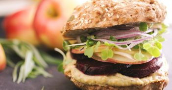 Garlic Tarragon Roasted Beet Sandwiches