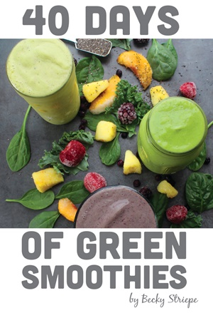 40 Days of Green Smoothies eBook
