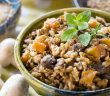 Winter One-Pot Lentils and Rice (Pressure Cooker / Instant Pot, Gluten-free, Vegan Recipe)