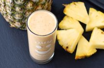 Pineapple Ginger Smoothie Recipe for a Good Belly! (dairy-free, vegan)
