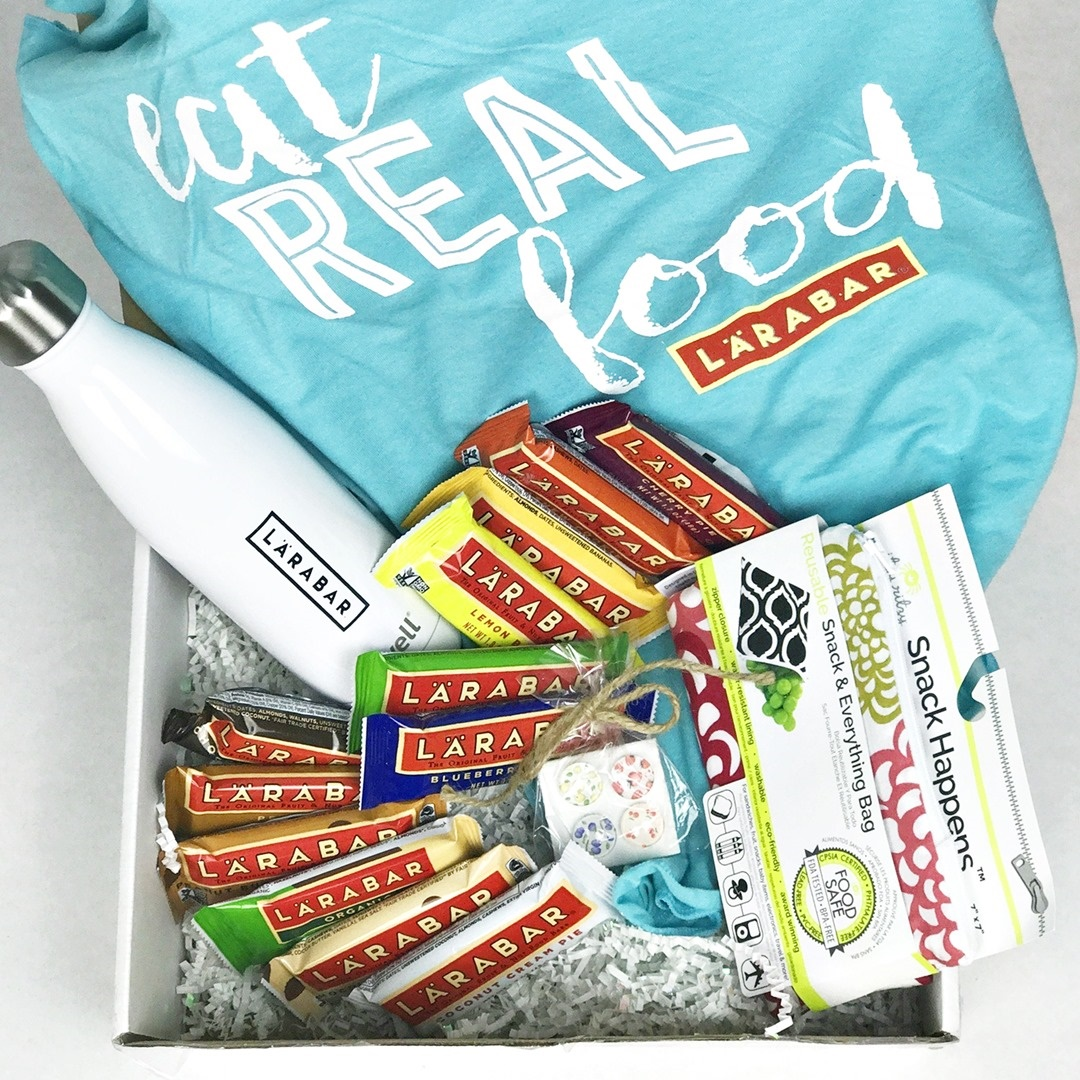 The Best Larabar Flavors by Popular Vote (giveaway prize shown for the vote)