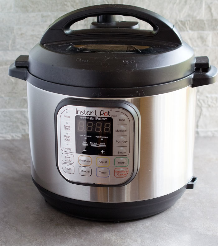 Instant Pot + Winter One-Pot Lentils and Rice (Gluten-free, Vegan Recipe)