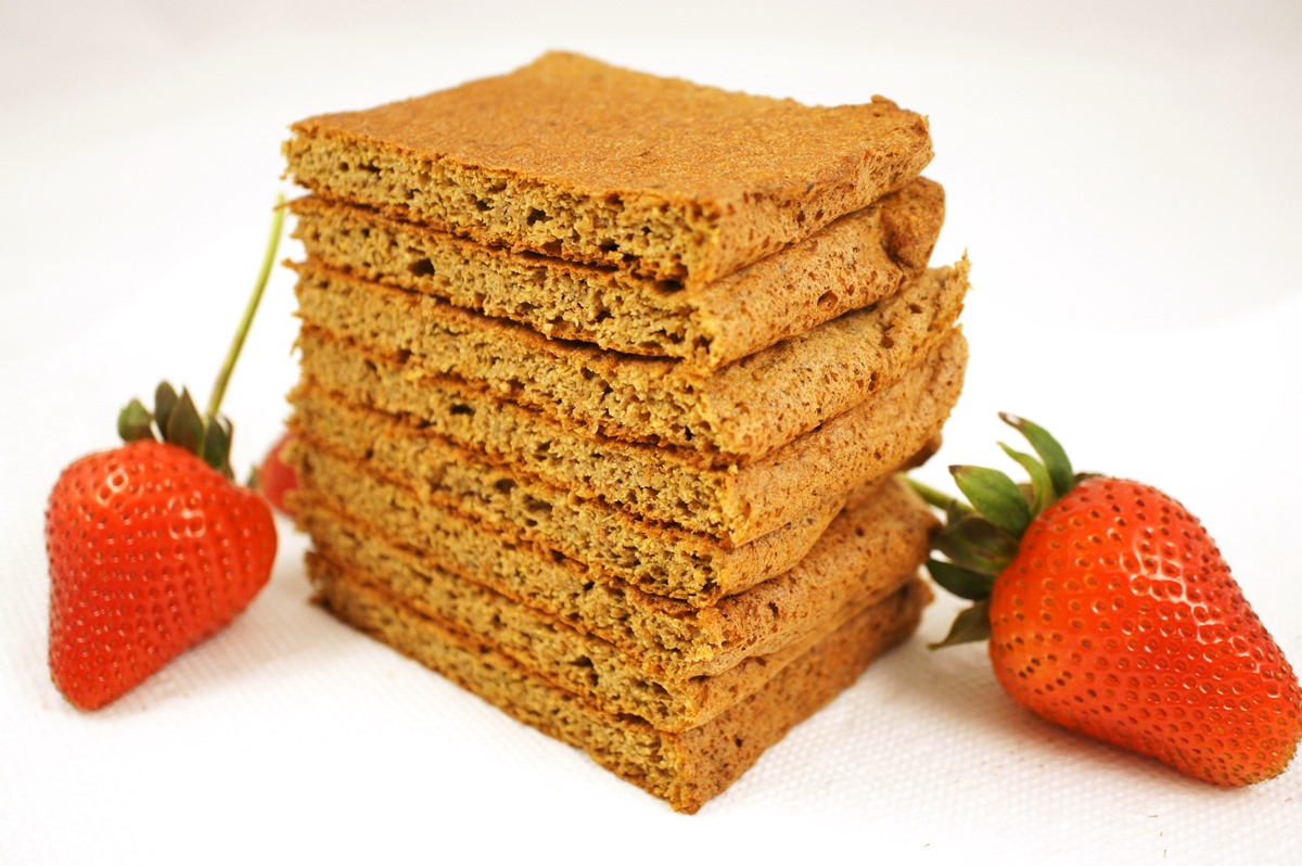 Lemon Strawberry Flaxseed Meal Bread Recipe - grain-free, gluten-free, dairy-free, nut-free and optionally sugar-free from Bread-free Bread