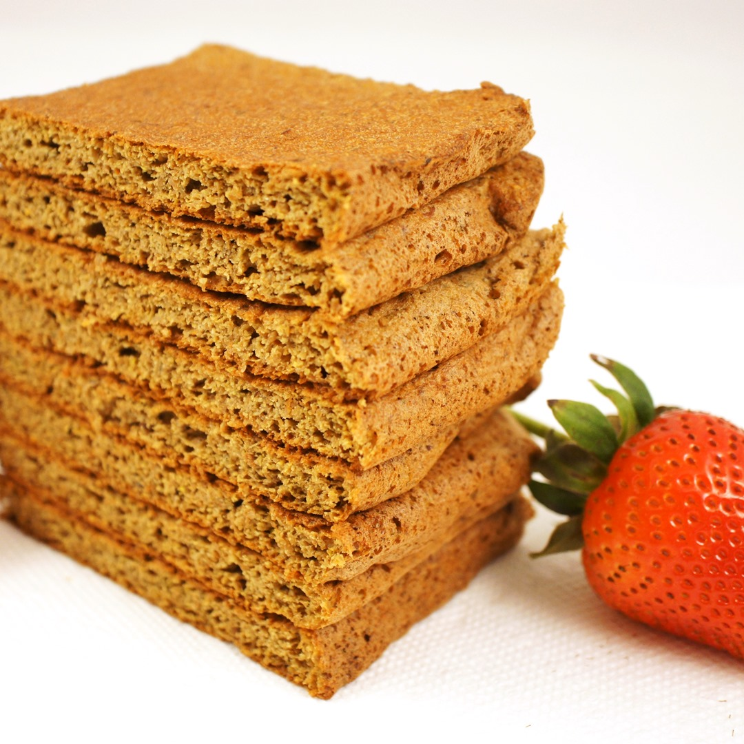 Lemon Strawberry Gluten-Free Flaxseed Meal Bread