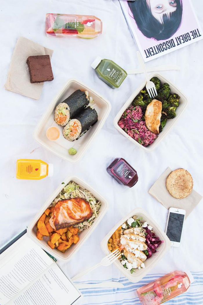 The Little Beet in New York has a wide variety of dairy-free and vegan real food options