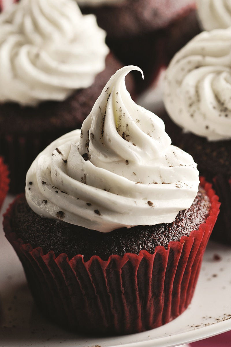 Un-Beet-able Dairy-Free Red Velvet Cupcakes Recipe (nut-free, soy-free and vegan optional)