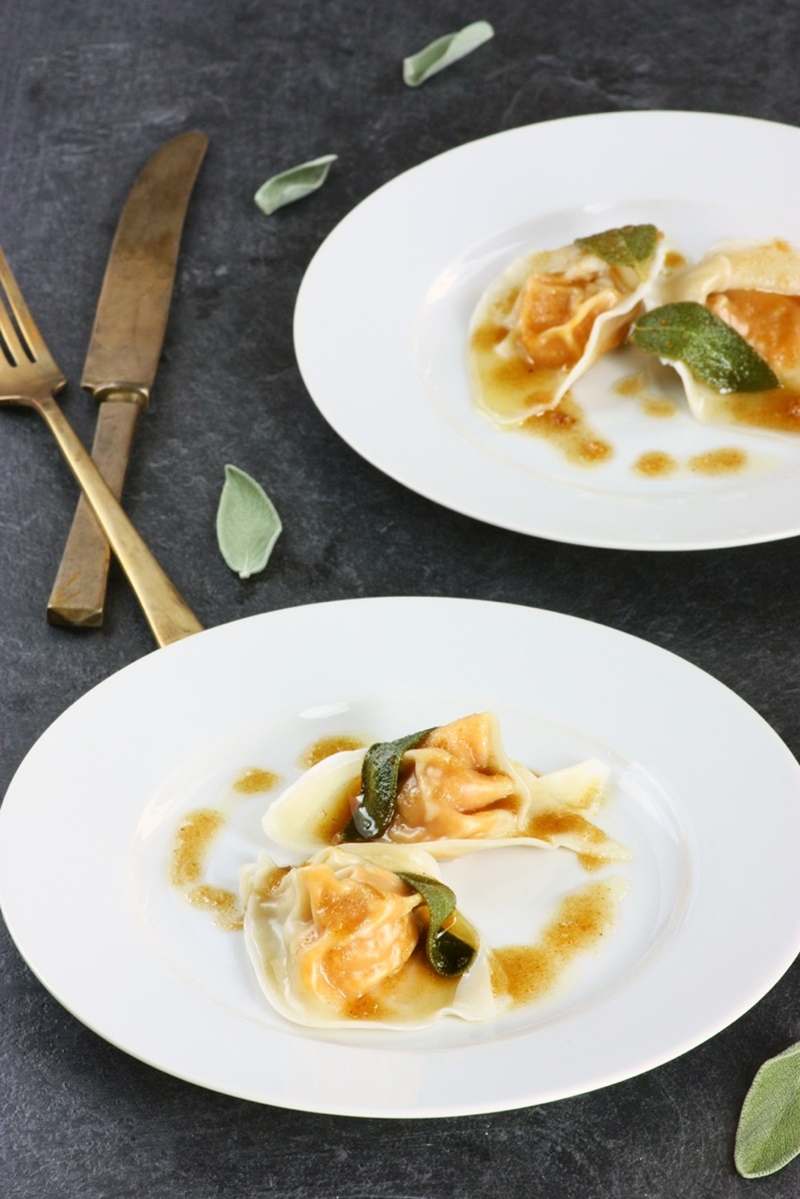 Butternut Squash Tortellini Recipe With Dairy Free Sage