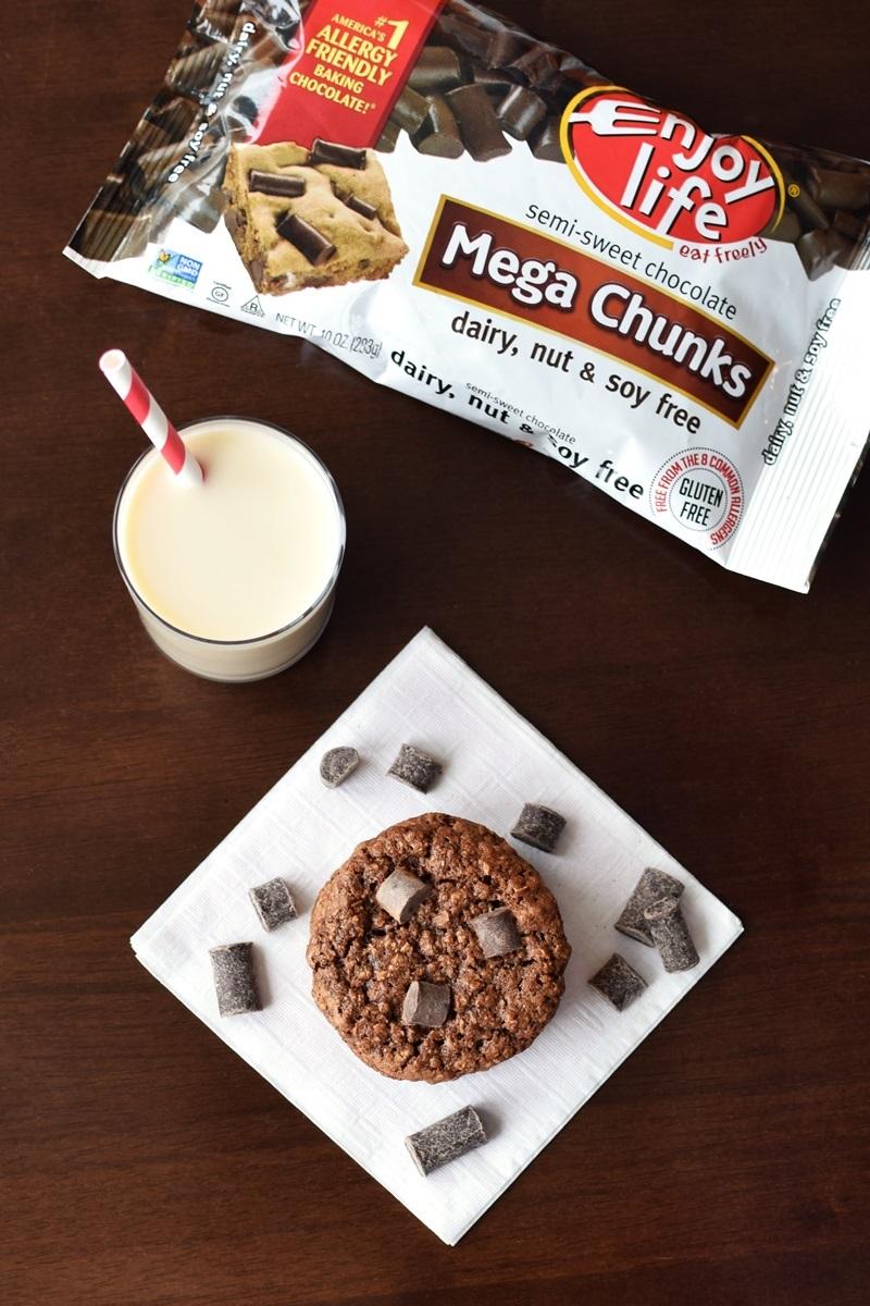 Chocolate Chunky Monkey Cookies Recipe (Vegan & Gluten-Free!)