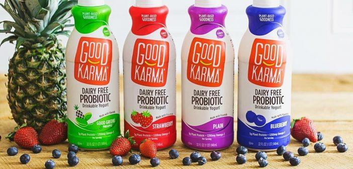 Good Karma Giveaway + Flaxmilk Probiotic Drinkable Yogurt
