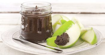Creamy Not-ella Carob Butter Recipe - a dairy-free, gluten-free, nut-free, low-sodium, trigger-free recipe from The Migraine Relief Plan guidebook
