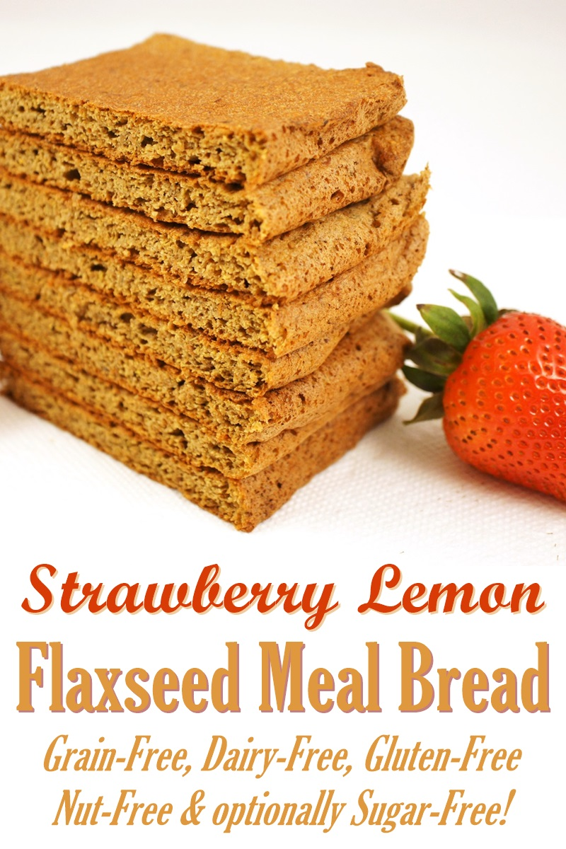 Flaxseed Meal Bread Recipe - grain-free, gluten-free, dairy-free, nut ...