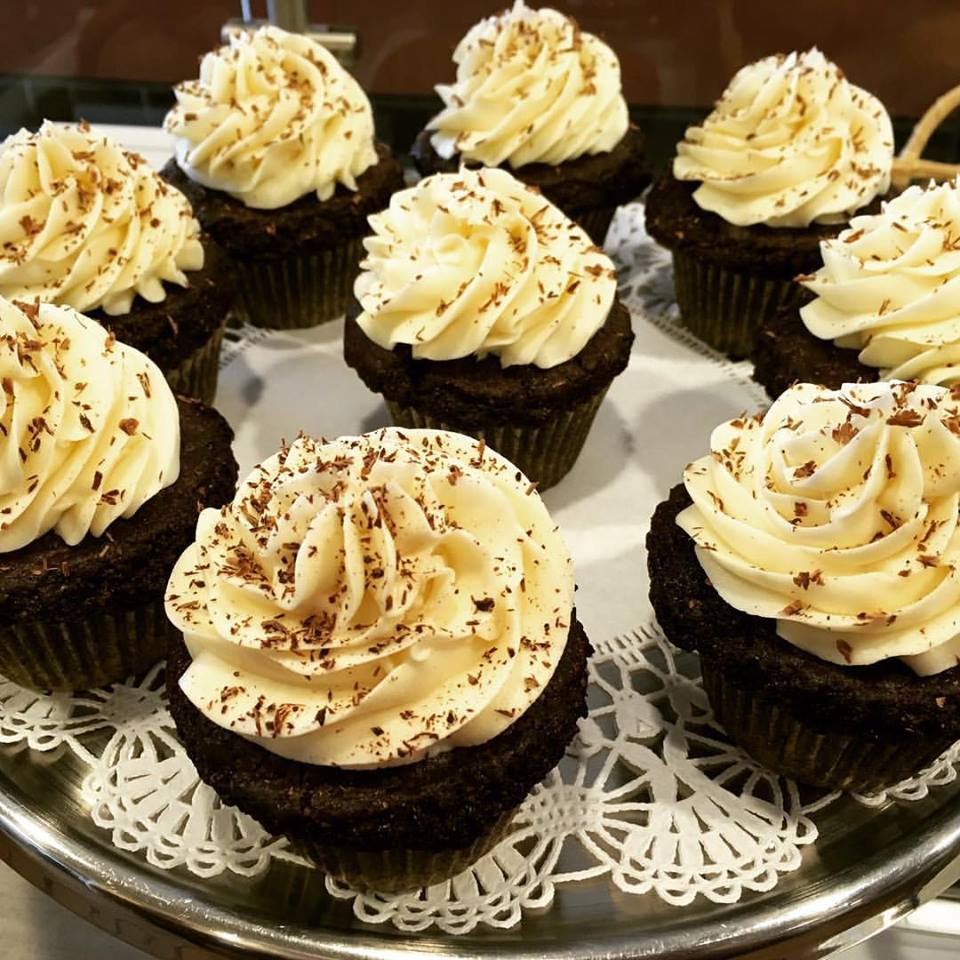 Jodi Bee Bakes in Salem, MA is a vegetarian bakery and cafe serving many dairy-free, gluten-free, and vegan options.