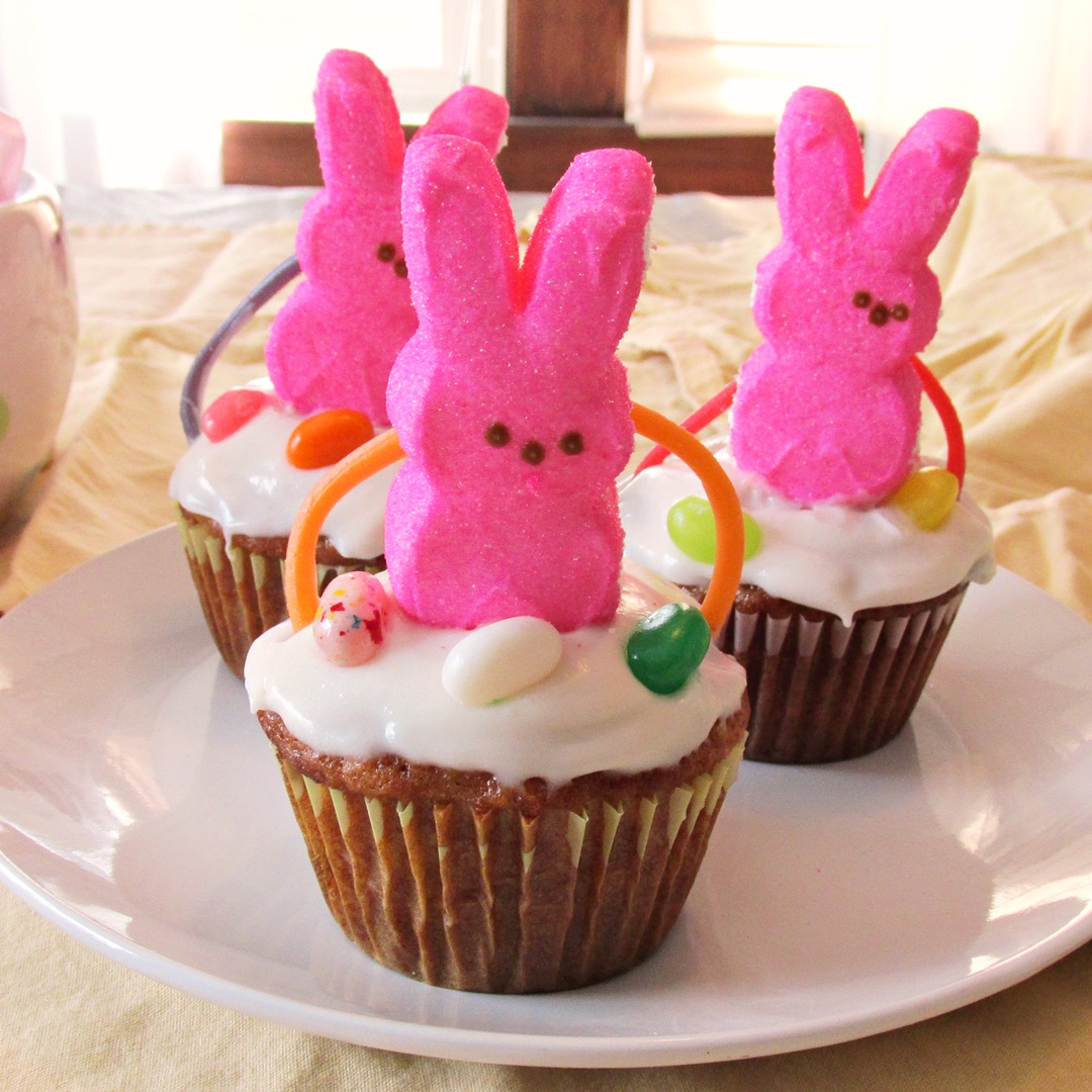 Easter Basket Cupcakes: A Fun & Easy DIY Project