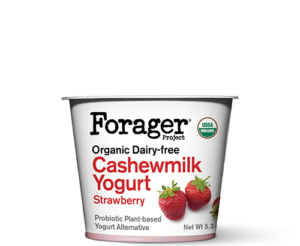 Forager Project Cashewgurt / Cashewmilk Yogurt Reviews and Information. We have ingredients, ratings, and more for this natural, vegan, soy-free yogurt line. Pictured: Strawberry