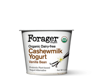 Forager Project Cashewgurt / Cashewmilk Yogurt Reviews and Information. We have ingredients, ratings, and more for this natural, vegan, soy-free yogurt line. Pictured: Vanilla