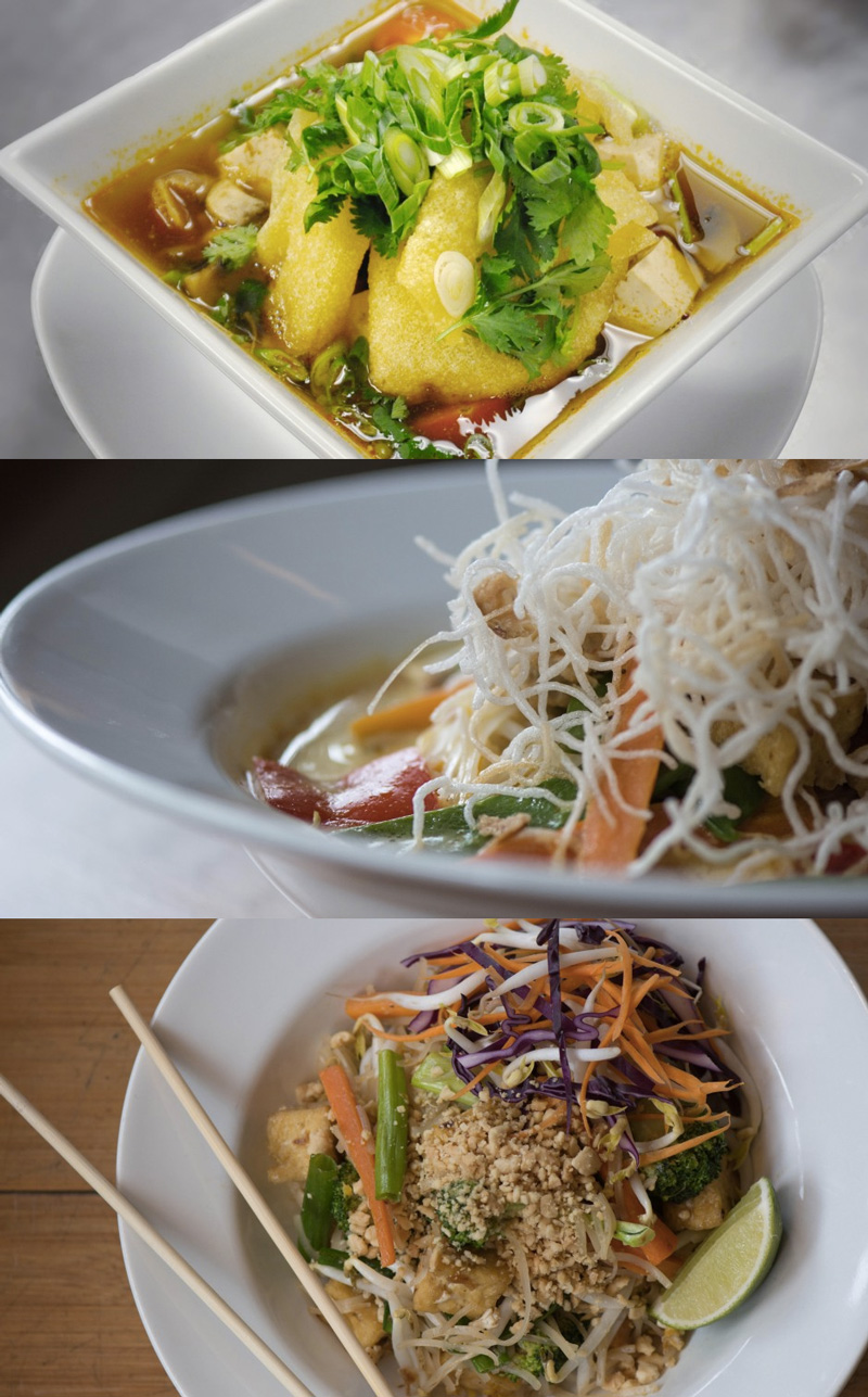 Green Elephant is a vegetarian restaurant in Portland, ME offering many dairy-free, gluten-free, and vegan Asian influenced meals