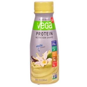 Vega Protein Nutrition Shakes Reviews and Info - Dairy-Free, Soy-Free, Ready-to-Drink Vegan Protein Shakes with fortification.