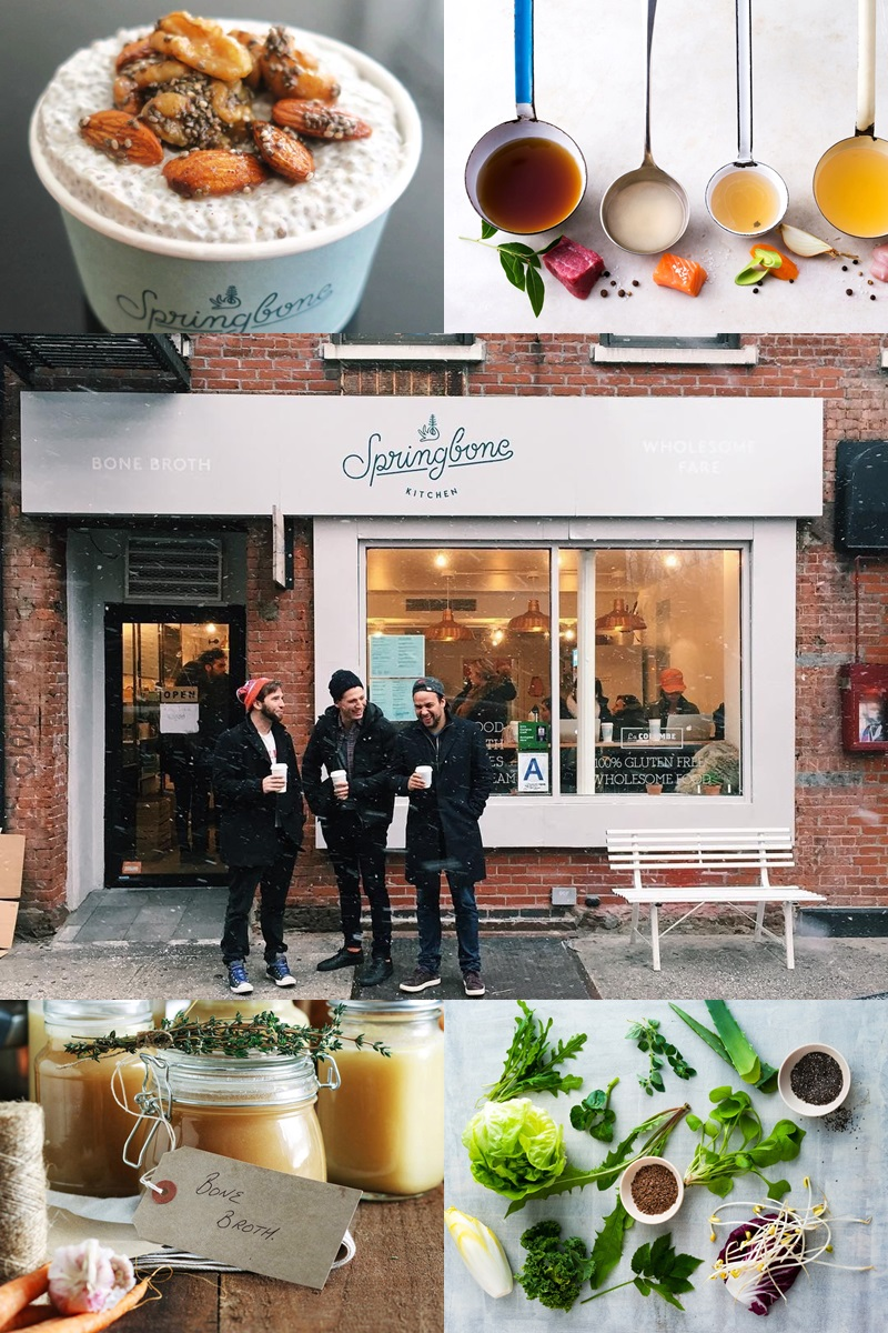 Springbone Kitchen in New York City for paleo, gluten-free and dairy-free healthy eats
