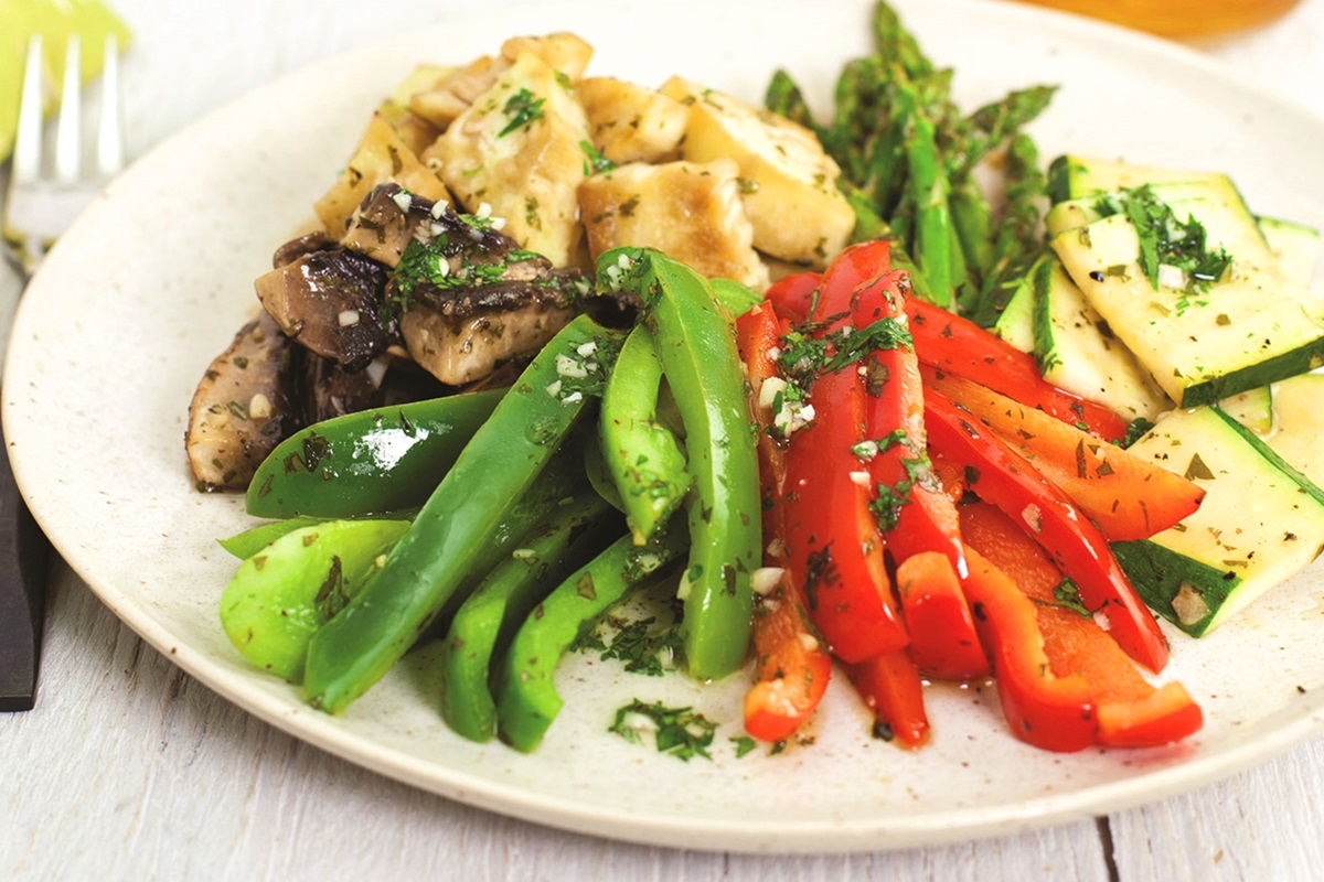 Mediterranean Vegetables Recipe (Grilled Or Roasted