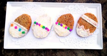 Zesty Paleo Lemon Cookies Recipe with Lemon Frosting (great for Easter!)