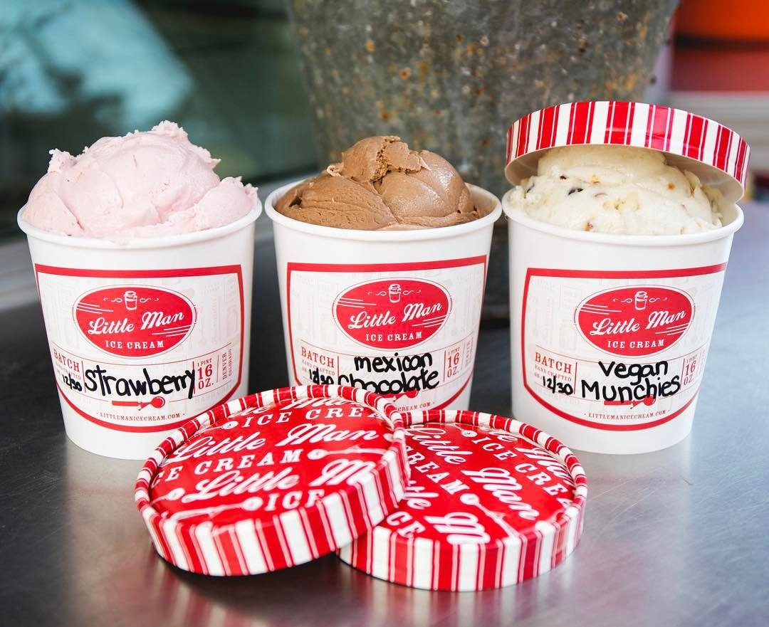 LIttle Man Ice Cream in Denver delivers big on dairy-free and vegan ice cream flavors