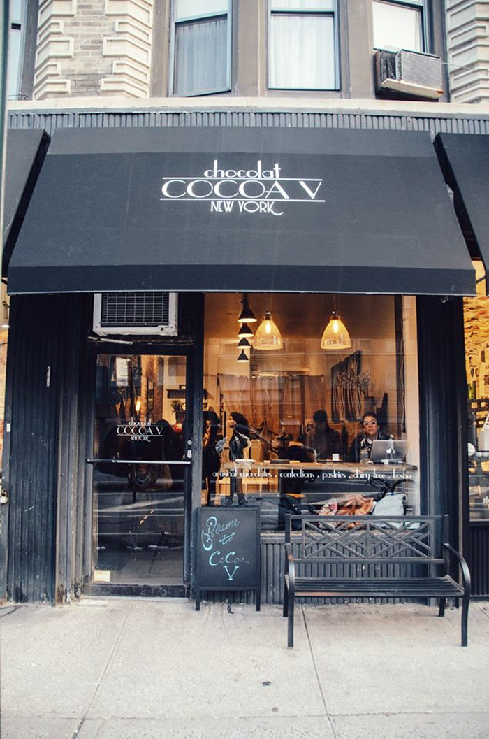 Cocoa V is a fully vegan chocolatier and patisserie in the heart of Manhattan!