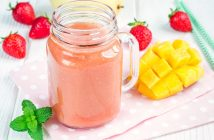Mango Strawberry Julius (dairy-free, gluten-free)