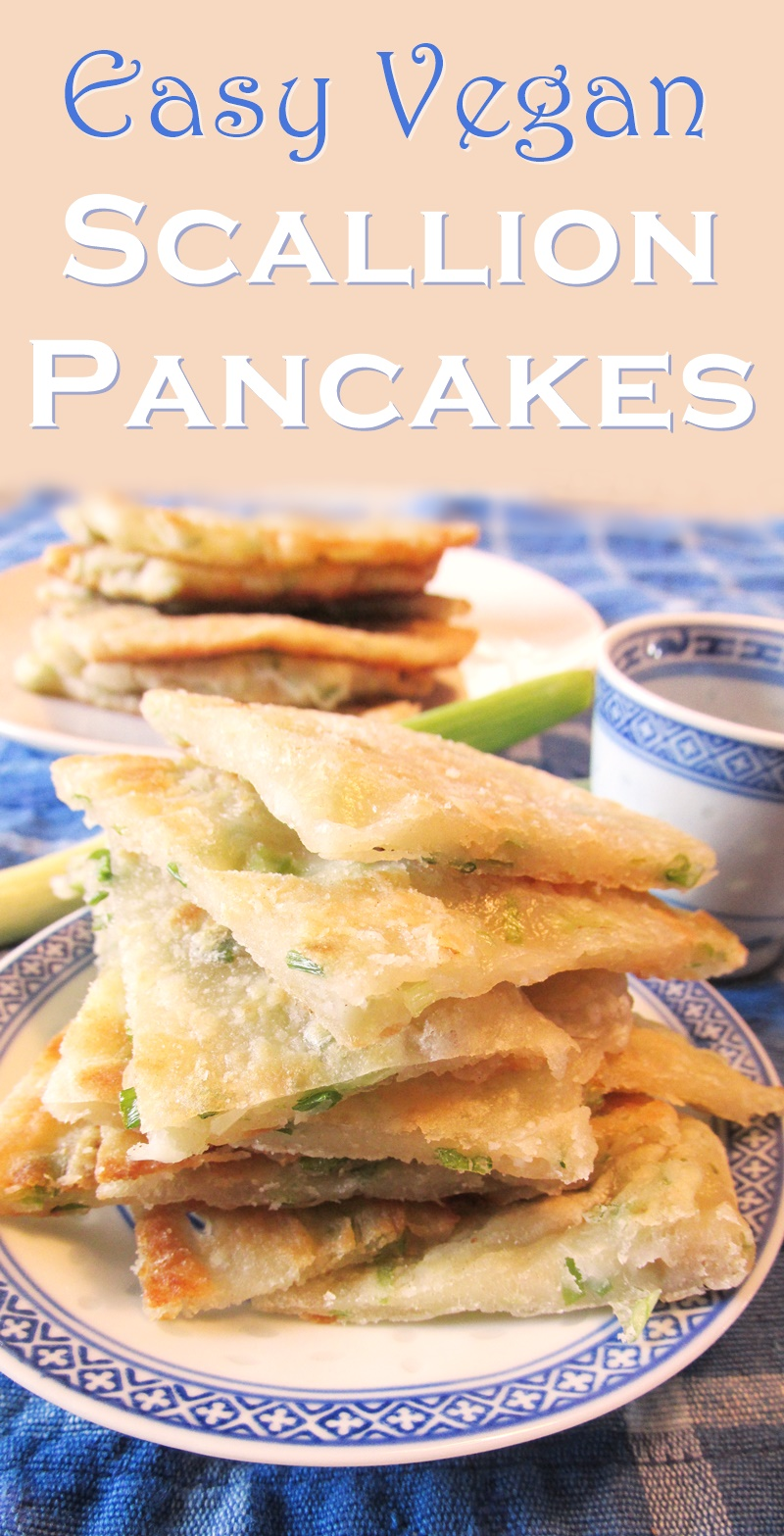 Scallion Pancakes Recipe - Easy, Naturally Vegan and Kid-Friendly
