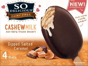 So Delicious Dairy Free Cashewmilk Ice Cream Bars (Review) - Certified Vegan, Gluten-Free and Kosher Pareve