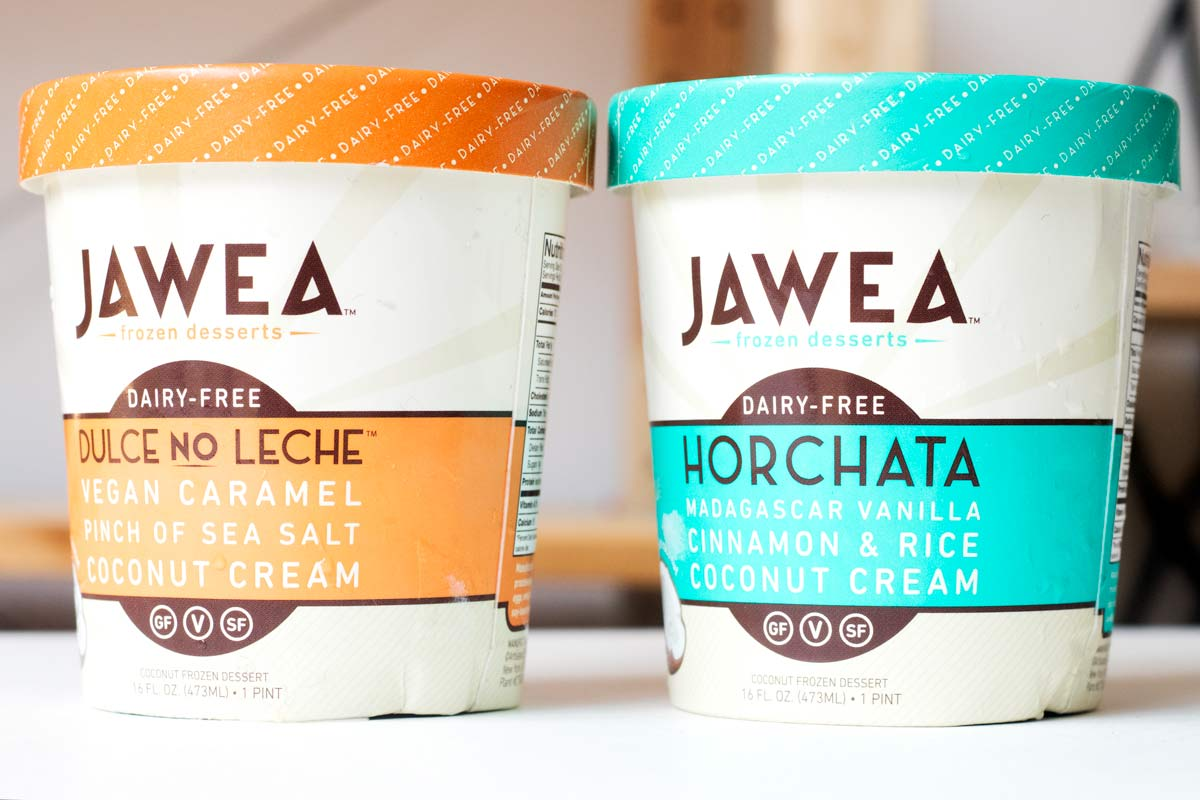 Jawea Dairy-Free Frozen Desserts made with simple ingredients and available in unique flavors like Horchata!