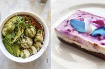 Nourish Cafe in San Francisco is serving up nourishing bowls, sandwiches, smoothies, and decadent baked goods. All dairy-free, egg-free, vegan / plant-based.