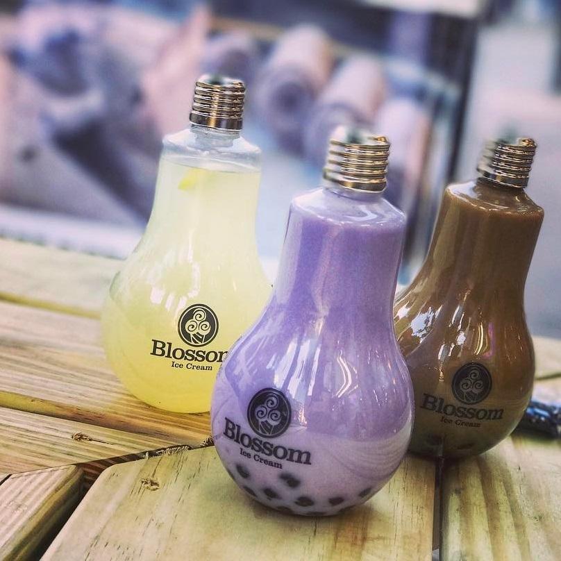 Blossom Ice Cream in Brooklyn for dairy-free & vegan Thai ice cream rolls and drinks