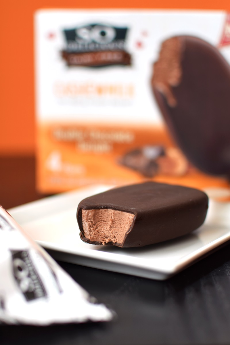 So Delicious Dairy Free Cashewmilk Ice Cream Bars (Review) - Certified Vegan, Gluten-Free and Kosher Pareve (Double Chocolate Delight pictured)