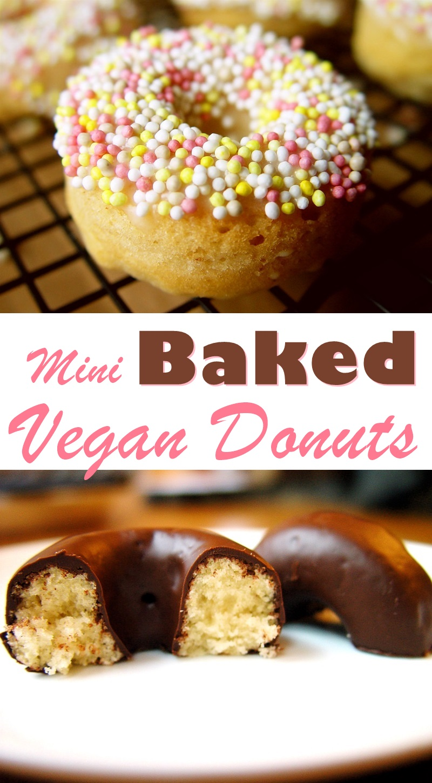 Vegan Mini Baked Donuts Recipe