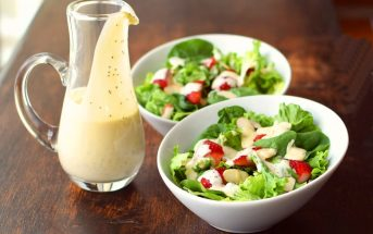 Creamy Lemon Poppy Seed Dressing Recipe (dairy-free, gluten-free, oil-free, mayo-free and vegan) - deliciously versatile!
