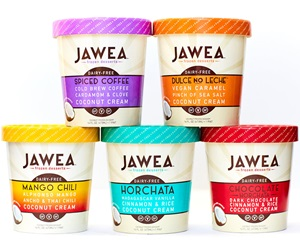 Jawea Dairy-Free Frozen Desserts - Vegan, Coconut Milk-Based and Unique Flavors
