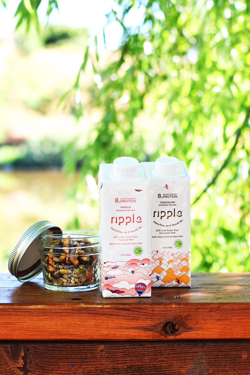 Ripple Milk Kids - Shelf-Stable, High-Protein, Dairy-Free Pea Milk Singles in Original, Vanilla, and Chocolate