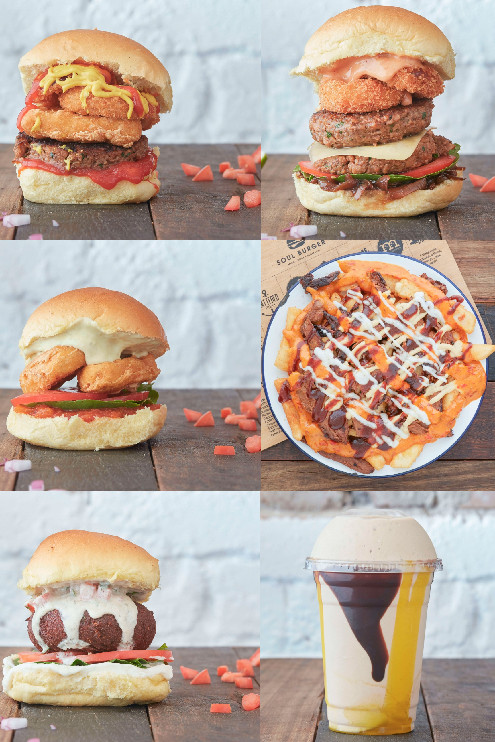 Soul Burger is a fully plant-based burger joint in Sydney, Australia!