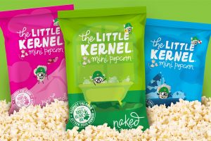 The Little Kernel Mini Popcorn Review - Dairy-free flavors like White Cheddar and Butter Flavored! (vegan, gluten-free, and non-GMO, too)