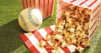 Ballpark Caramel Popcorn Crunch Recipe (Dairy-free & Vegan Version!)