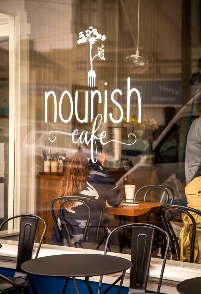 Nourish Cafe Hyde Street San Francisco Ca