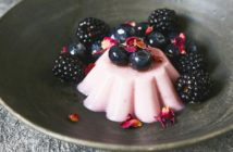 Bold Vegan - Berry Balsamic Panna Cotta