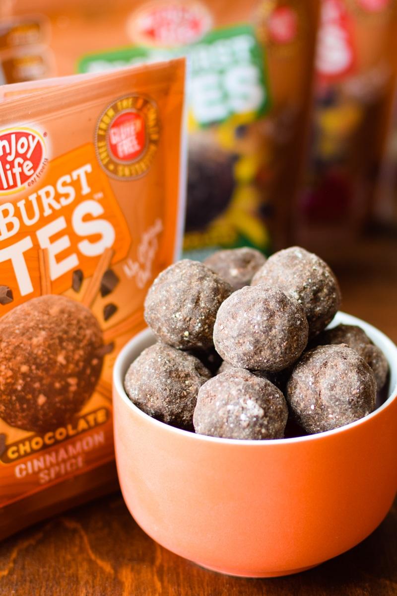 Enjoy Life Proburst Bites Review - Vegan, Gluten-Free, Top Allergen-Free Chocolate Truffle Snacks