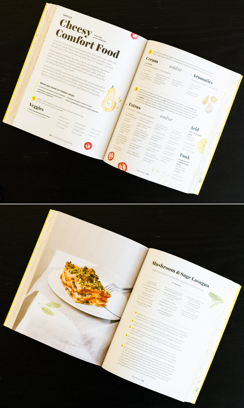 YumUniverse Pantry to Plate Cookbook - Sample Mushroom and Sage Vegan Lasagna Recipe
