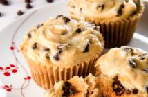 Sweet Savory and Free - Cookie Dough Cupcakes