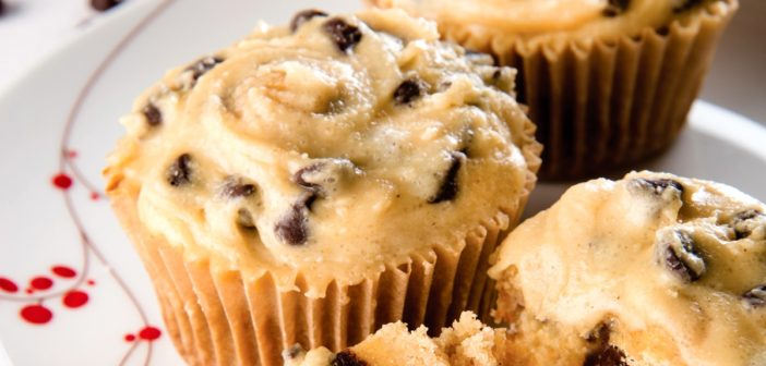 Cookie Dough Cupcakes: Impossibly Allergy-Free & Refined Sugar-Free!