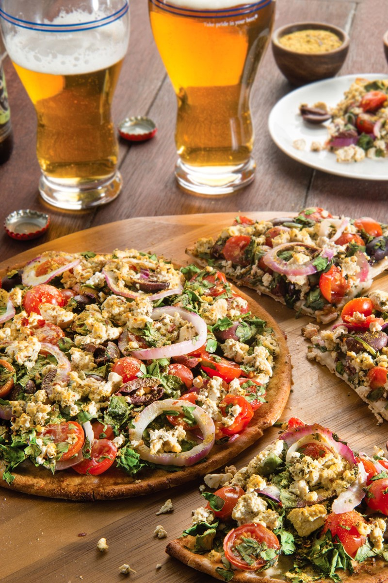 Sweet Savory and Free - Its All Greek to Me Pizza