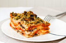 Mushroom and Sage Vegan Lasagna Recipe - Dairy-free, Gluten-free and Plant-based