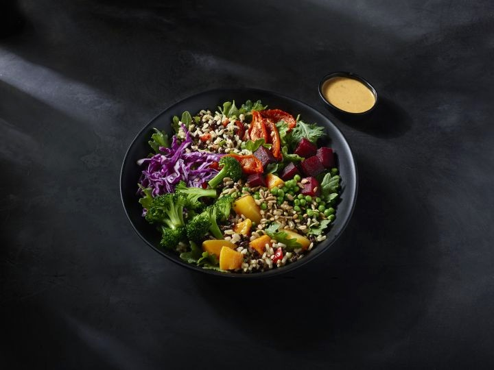 Starbucks' new Vegan Lentils & Vegetables Protein Bowl with Brown Rice